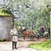 Ясная Поляна, вьездные ворота