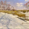 Снег тает